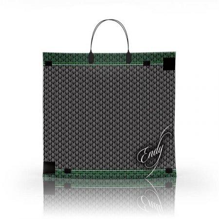 Пакет с пластиковой ручкой 36x34 Энди 80мкм ламинат