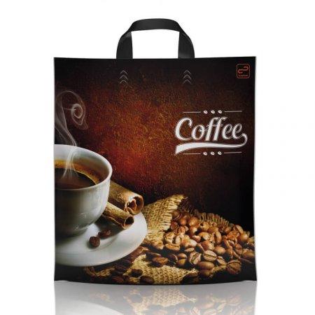 Пакет с петлевой ручкой 38x42 Кофе