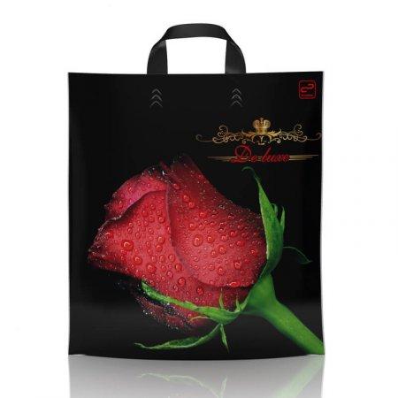 Пакет с петлевой ручкой 38x42 Роза де Люкс